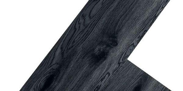 STILISTA 32529 Vinylová podlaha 20 m2 – černý dub