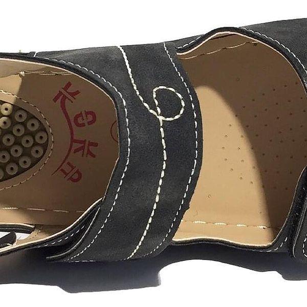 Pohodlné dámské sandále Koka typ 3   Velikost: 38   Krémová4