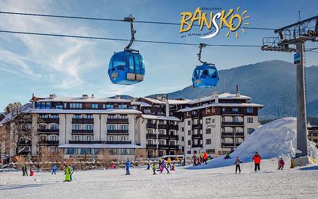 5–8denní Bansko ski | MPM Hotel Sport**** | Přímo na sjezdovce | Wellness v ceně | Vlastní doprava
