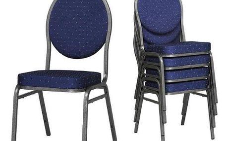 Konferenční stohovatelná židle STRAKOŠ H-MAN