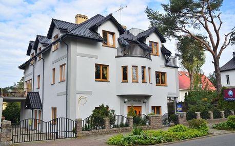 Polsko, Baltské moře: Willa 4 Pory Roku & Uznam