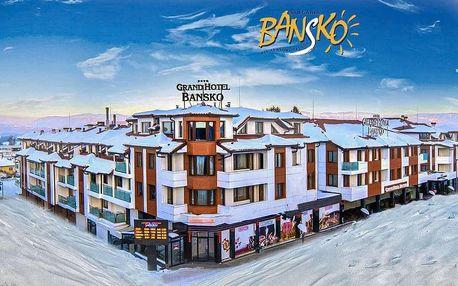 5–8denní Bansko ski | Grand Hotel Bansko**** | Polopenze | Wellness v ceně | Shuttle | Vlastní doprava