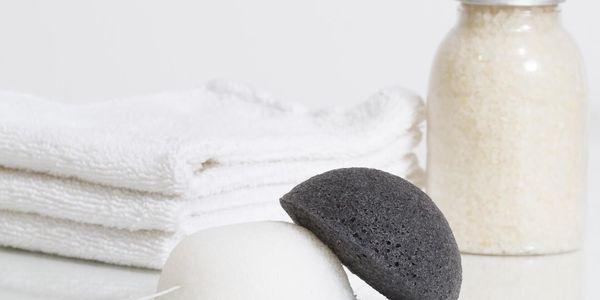 Konjaková houbička bílá2