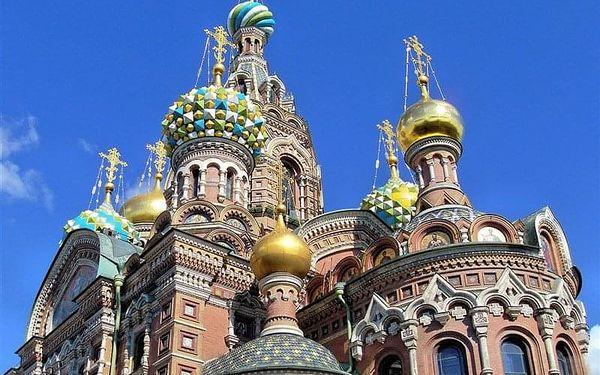 Petrohrad víkend ***, Rusko, letecky, snídaně v ceně2