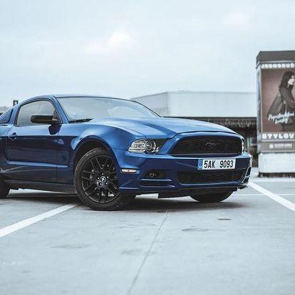 Jízda ve Ford Mustang 3.7 2014 Plzeň