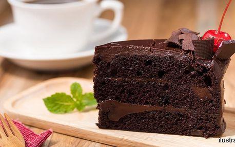 Káva a dort pro 1 či 2 i vstupy do dětské herny