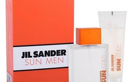 Jil Sander Sun Men dárková kazeta pro muže toaletní voda 75 ml + sprchový gel 75 ml