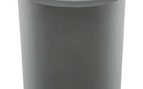 Odpadkový koš na tříděný odpad Top Bin 50 l, stříbrná