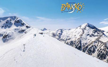 5–8denní Bansko ski | Hotel Olymp*** | Wellness v ceně | Polopenze | Vlastní doprava