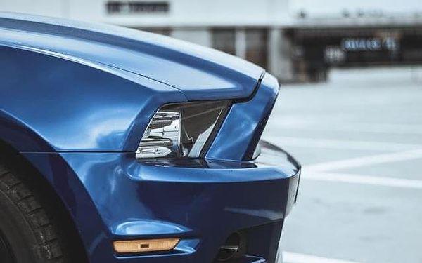 Jízda ve Ford Mustang 3.7 2014 Hradec Králové5