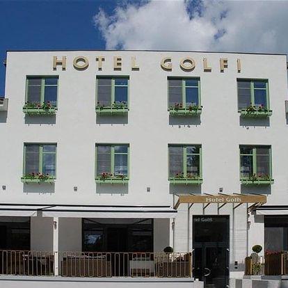 Poděbrady - hotel GOLFI, Česko