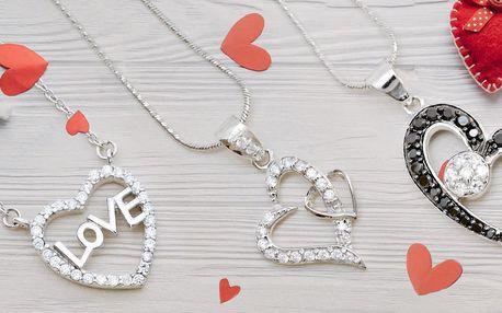 Srdeční záležitost: stříbrné přívěsky a náhrdelníky