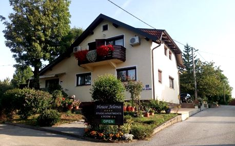 Chorvatsko - Plitvická jezera: House Jelena