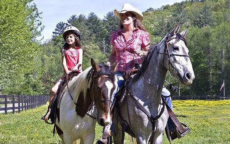 Teoretická i praktická lekce jízdy na koni