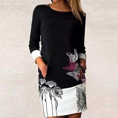 Dámské šaty s dlouhým rukávem Avianna