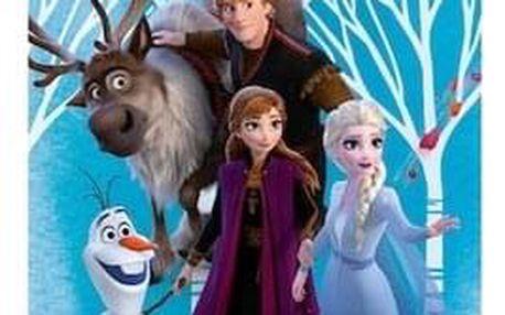 Jerry Fabrics Osuška Ledové království Frozen 2 blue, 70 x 140 cm