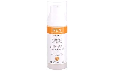REN Clean Skincare Radiance Glow Daily Vitamin C 50 ml rozjasňující a hydratační pleťový gel tester pro ženy