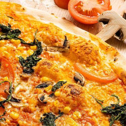 1 nebo 2 pizzy o průměru 33 cm k odnosu s sebou
