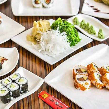 Sushi bašta: otevřený voucher na 300–500 Kč