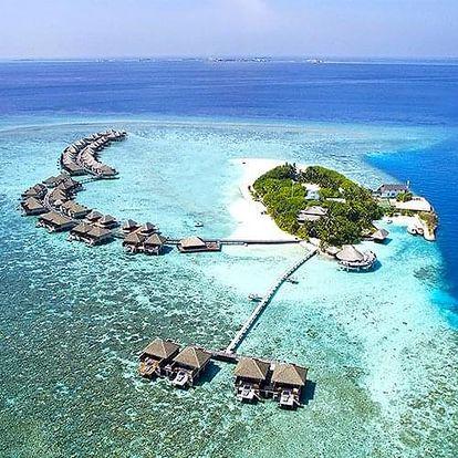 Maledivy letecky na 7-15 dnů, snídaně v ceně
