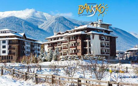 5–8denní Bansko ski | Aparthotel Orbilux*** | Polopenze | Wellness, Bazén v ceně | Vlastní doprava