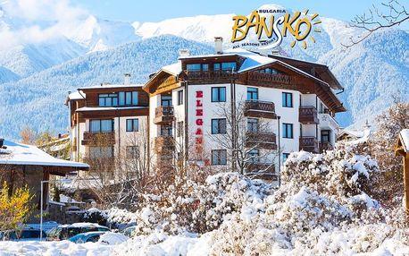 5–8denní Bansko ski | Hotel Elegant Lux**** | Polopenze | Wellness v ceně | Vlastní doprava