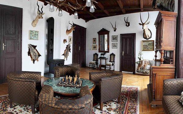 Pobyt pro dva v historickém zámku Úsobí   Úsobí   Celoročně (kromě Vánoc, Silvestra a letních víkendů).   3 dny/2 noci.5