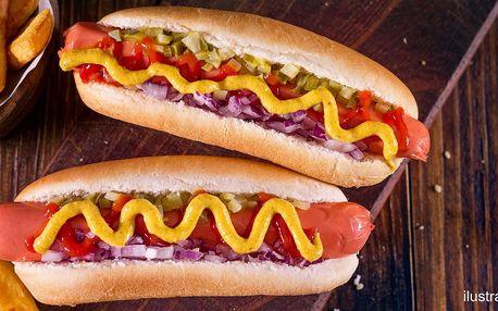 300g hot dog na odnos s sebou pro 1 nebo 2 osoby