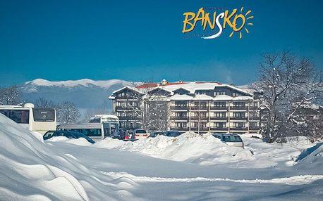 5–8denní Bansko ski | Sunrise Park Hotel Bansko**** | Polopenze | Wellness, Bazén v ceně | Vlastní doprava