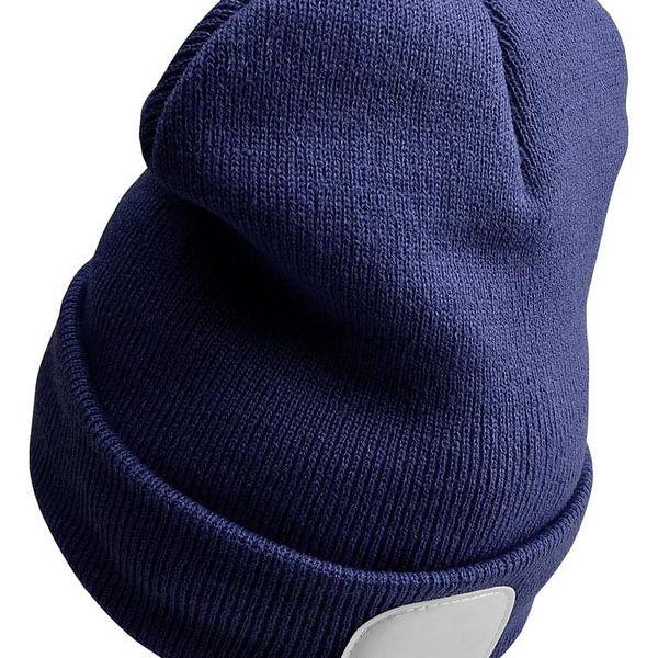 Sixtol Čepice s čelovkou 45 lm, USB, uni, modrá2