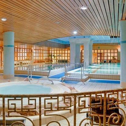 Budapešť, Aquincum Hotel***** s termálními bazény