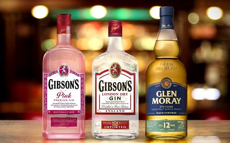 Pro fajnšmekry: gin, pink gin a single malt whisky