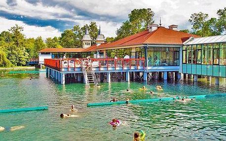 Hevíz, Európa Fit**** Superior u termálního jezera s wellness