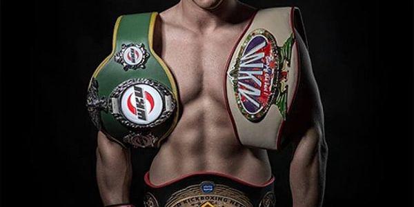 Privátní trénink s profesionálním zápasníkem K-1 Davidem Vinšem