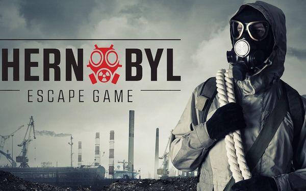Úniková hra z prostředí Černobylu až pro 4 osoby