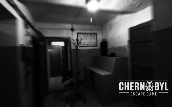 Úniková hra Chernobyl - dozimetrická věž5