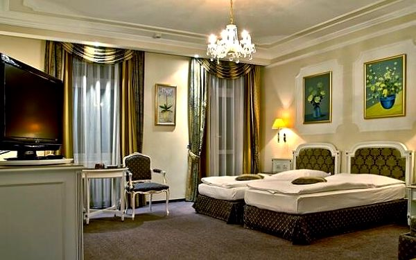 Luxusní wellness pobyt v 5* resortu v Mariánkách 3 dny / 2 noci, 2 os., snídaně5