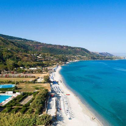 Itálie - Kalábrie letecky na 8-15 dnů, polopenze
