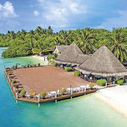 Maledivy letecky na 8-16 dnů, ultra all inclusive