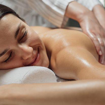 Office masáž pro uvolnění v salonu Thai Sun