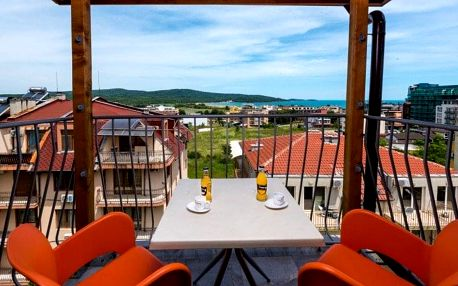 Bulharsko - Primorsko letecky na 8-15 dnů, snídaně v ceně