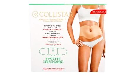 Collistar Special Perfect Body Patch-Treatment Reshaping Abdomen And Hips 8 ks remodelační náplast na břicho, hýždě a boky pro ženy