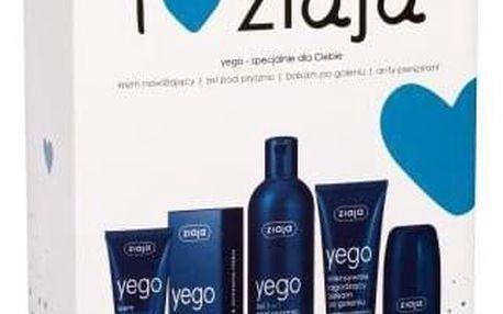 Ziaja Men dárková kazeta pro muže sprchový gel 3v1 300 ml + hydratační krém SPF6 50 ml + balzám po holení 75 ml + antiperspirant 60 ml