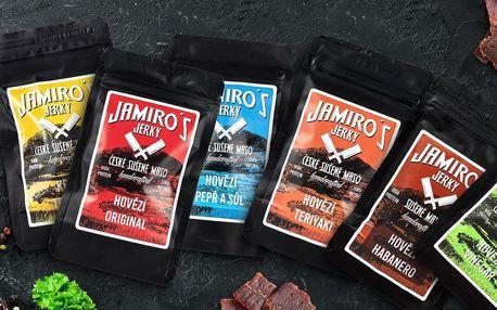 Výtečné Jamiro's Jerky bez éček: hovězí i krůtí