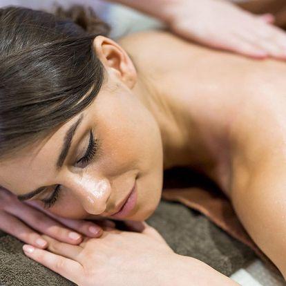 Výběr ze 4 druhů masáží: levandulová či zdravotní