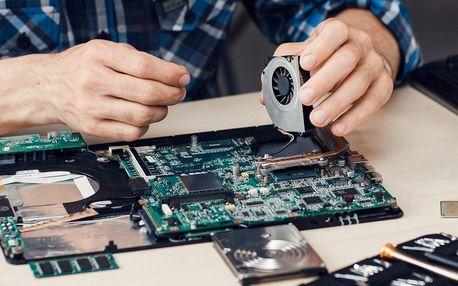 Servis a čištění notebooků či PC