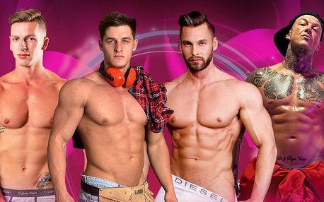 Ladies Night: pánská striptýzová show u vás doma