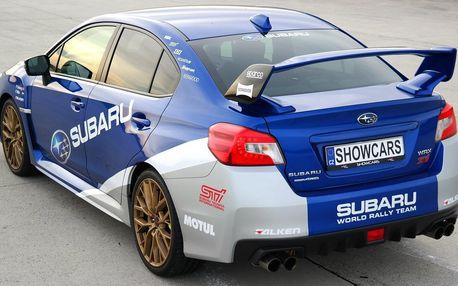 2 nebo 4 kola v Subaru Impreza na Autodromu Most