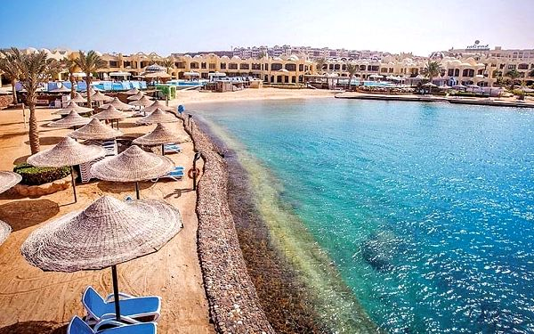 Hotel Sunny Days Resort Spa & Aquapark, Hurghada, letecky, all inclusive2