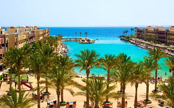 Hotel Sunny Days Resort Spa & Aquapark, Hurghada, letecky, all inclusive5